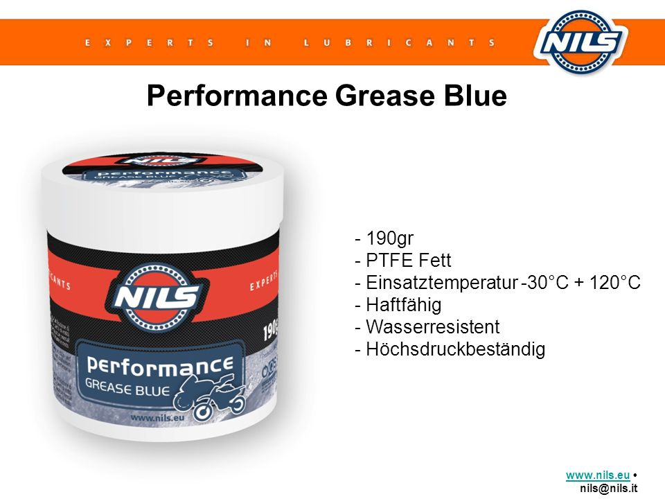 Performance Grease Blue