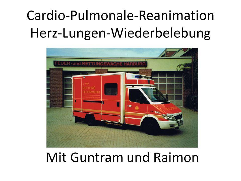 Cardio-Pulmonale-Reanimation Herz-Lungen-Wiederbelebung
