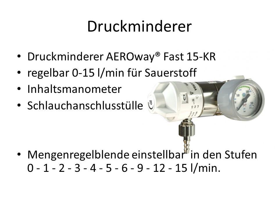 Druckminderer Druckminderer AEROway® Fast 15-KR