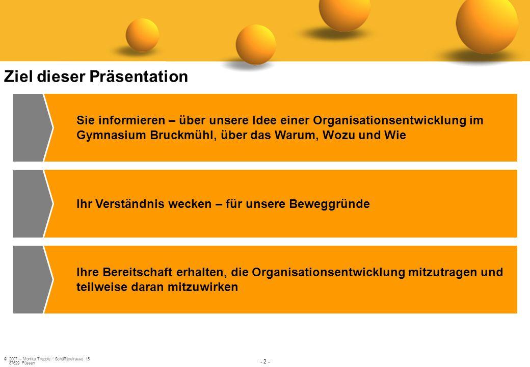 Ziel dieser Präsentation