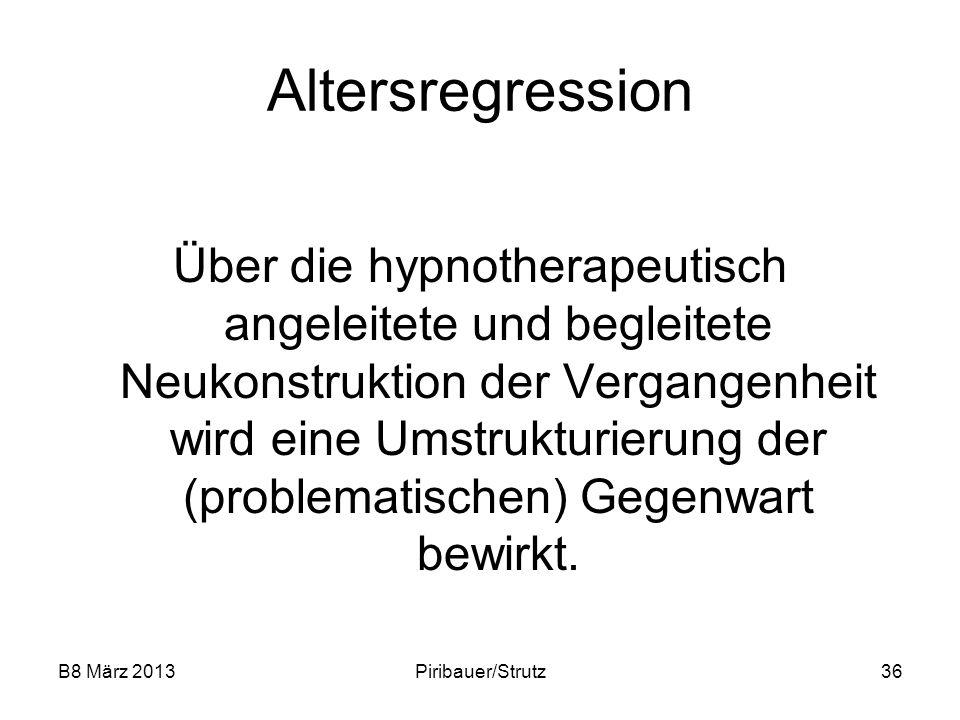 Altersregression