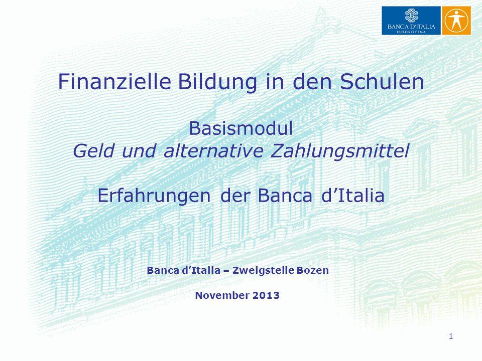 Banca d'Italia – Zweigstelle Bozen