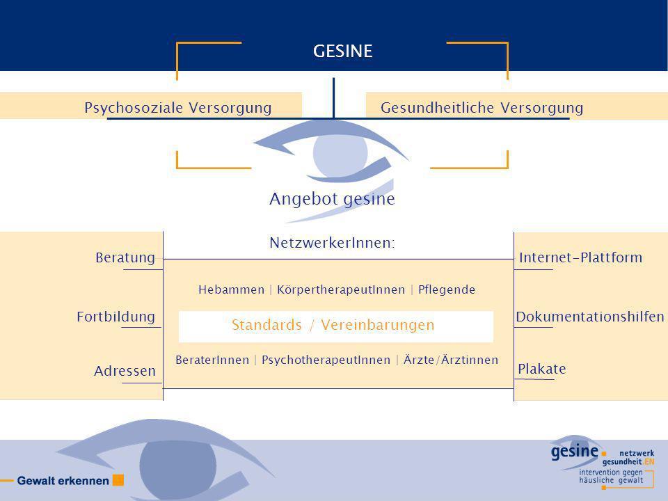 GESINE Angebot gesine Psychosoziale Versorgung