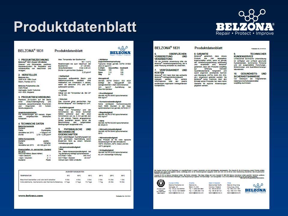 Produktdatenblatt Das Produktdatenblatt…………………………