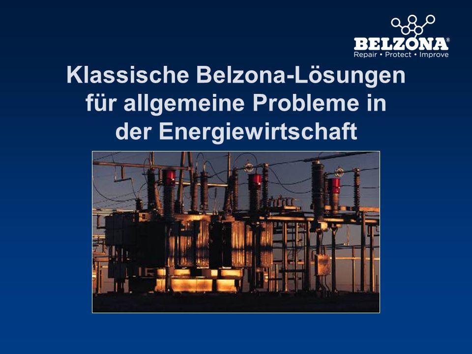 Klassische Belzona-Lösungen für allgemeine Probleme in