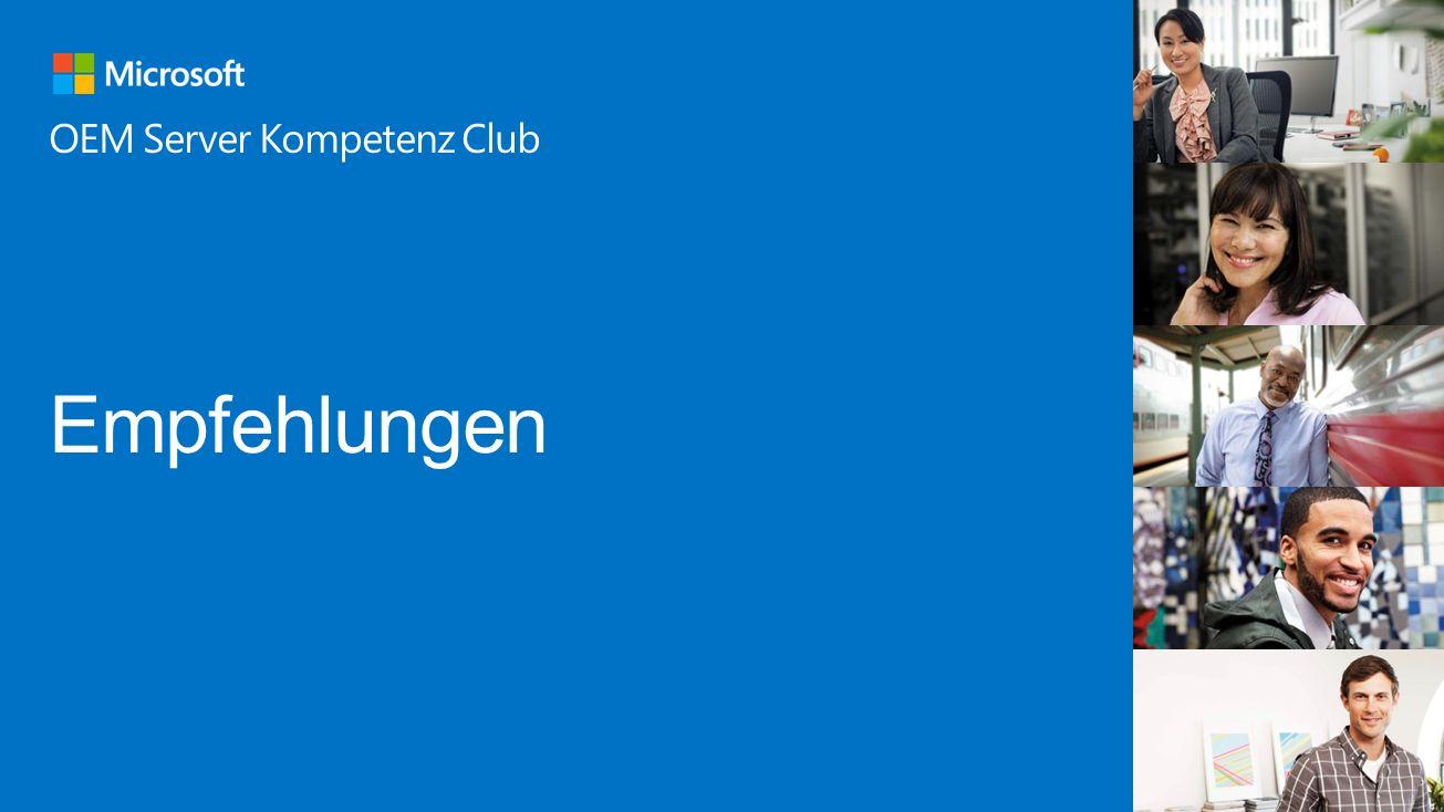 OEM Server Kompetenz Club Empfehlungen