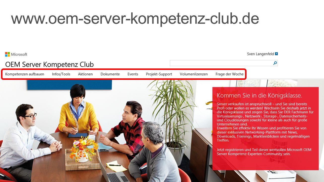 www.oem-server-kompetenz-club.de 3/31/2017
