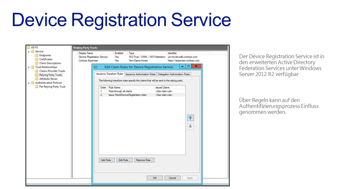 Device Registration Service