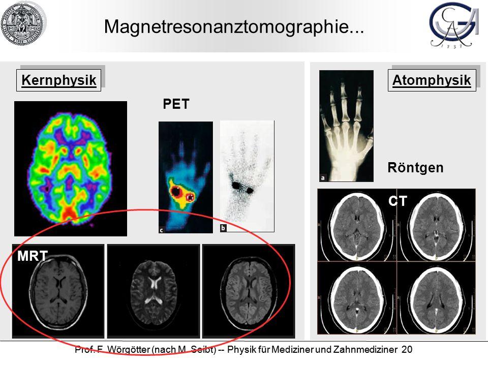 Magnetresonanztomographie...