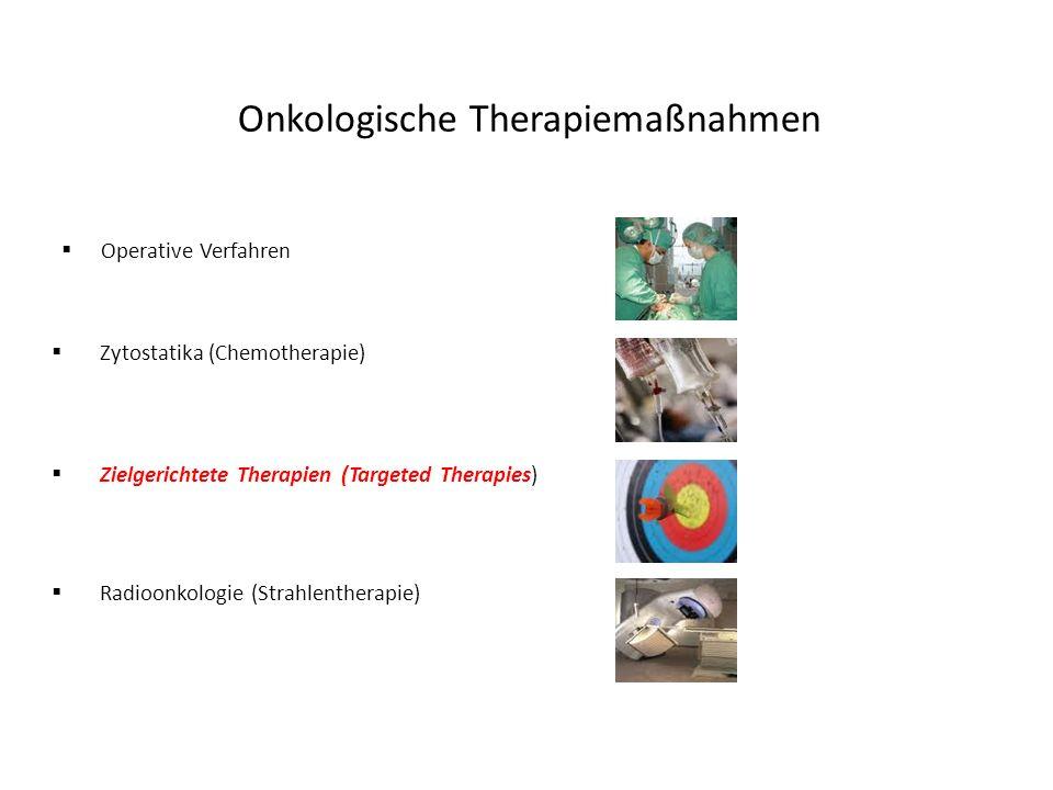 Onkologische Therapiemaßnahmen