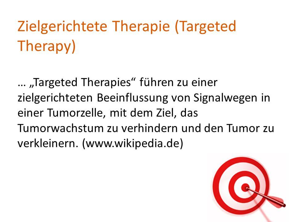 Zielgerichtete Therapie (Targeted Therapy)