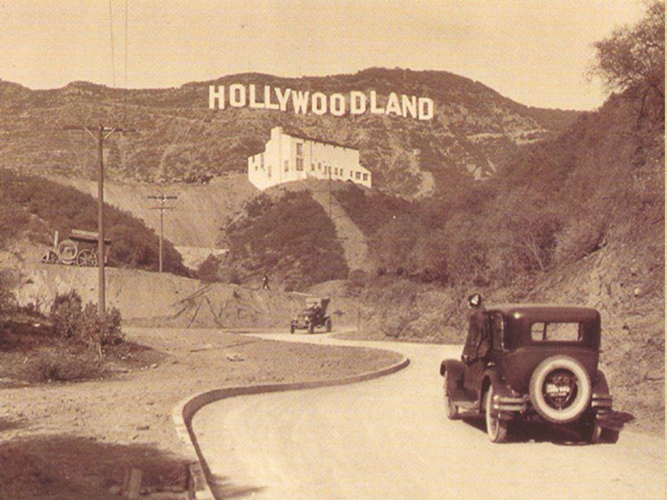1910 Filmfabrik Hollywood.