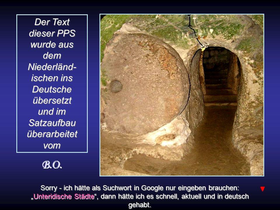 Der Text dieser PPS wurde aus dem Niederländ- ischen ins Deutsche übersetzt und im Satzaufbau überarbeitet vom
