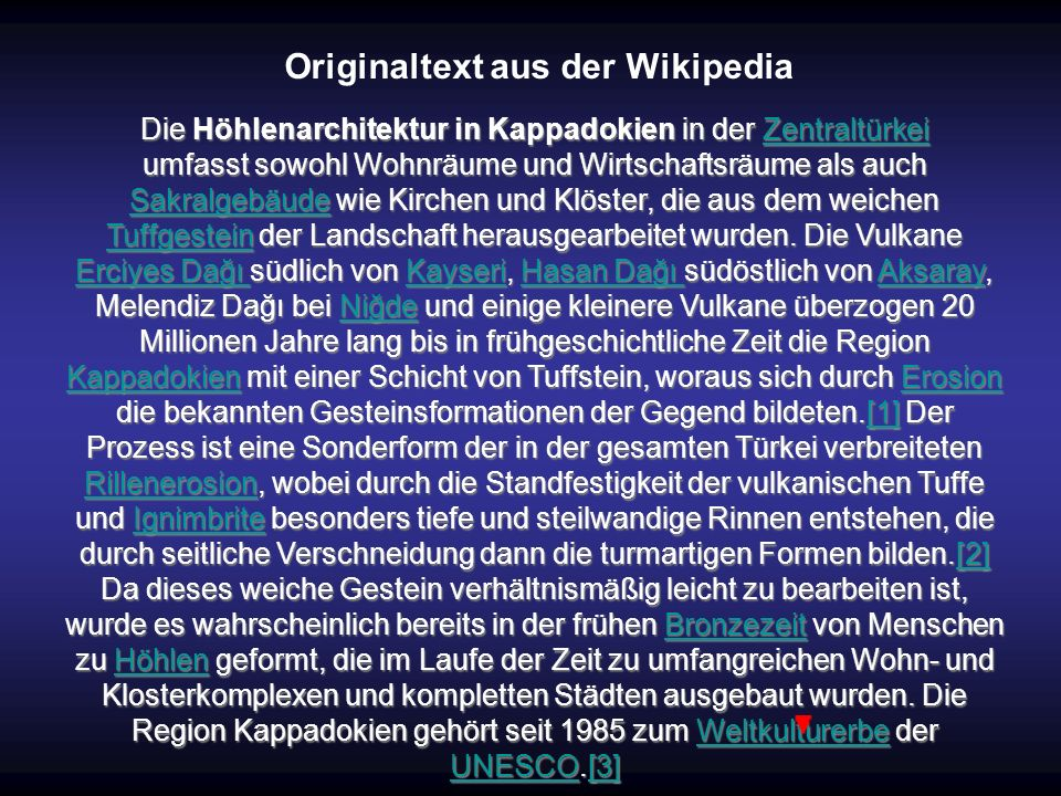 Originaltext aus der Wikipedia