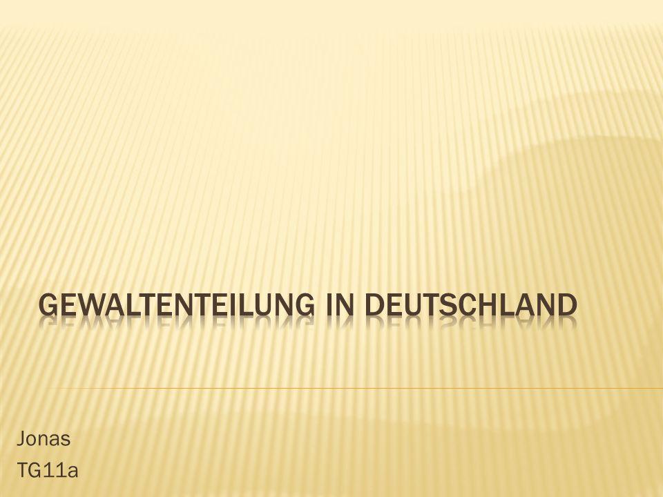 Gewaltenteilung in Deutschland