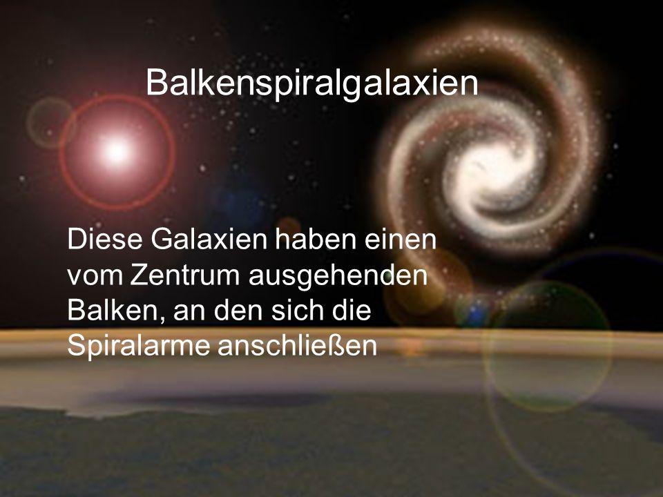 Balkenspiralgalaxien