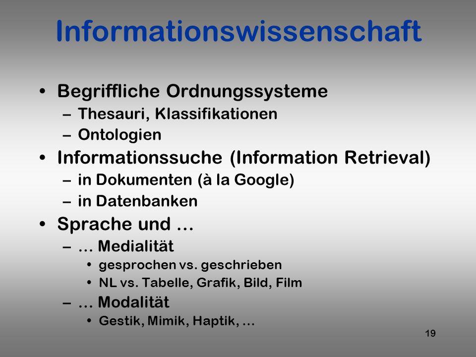 Informationswissenschaft