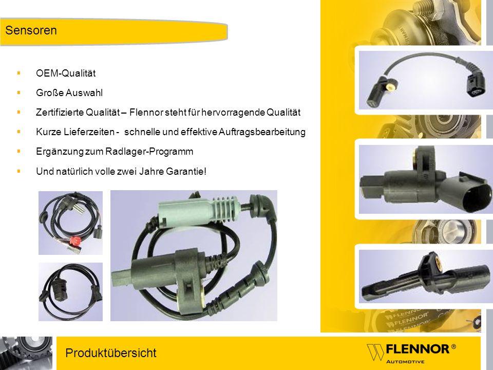 Sensoren Produktübersicht OEM-Qualität Große Auswahl