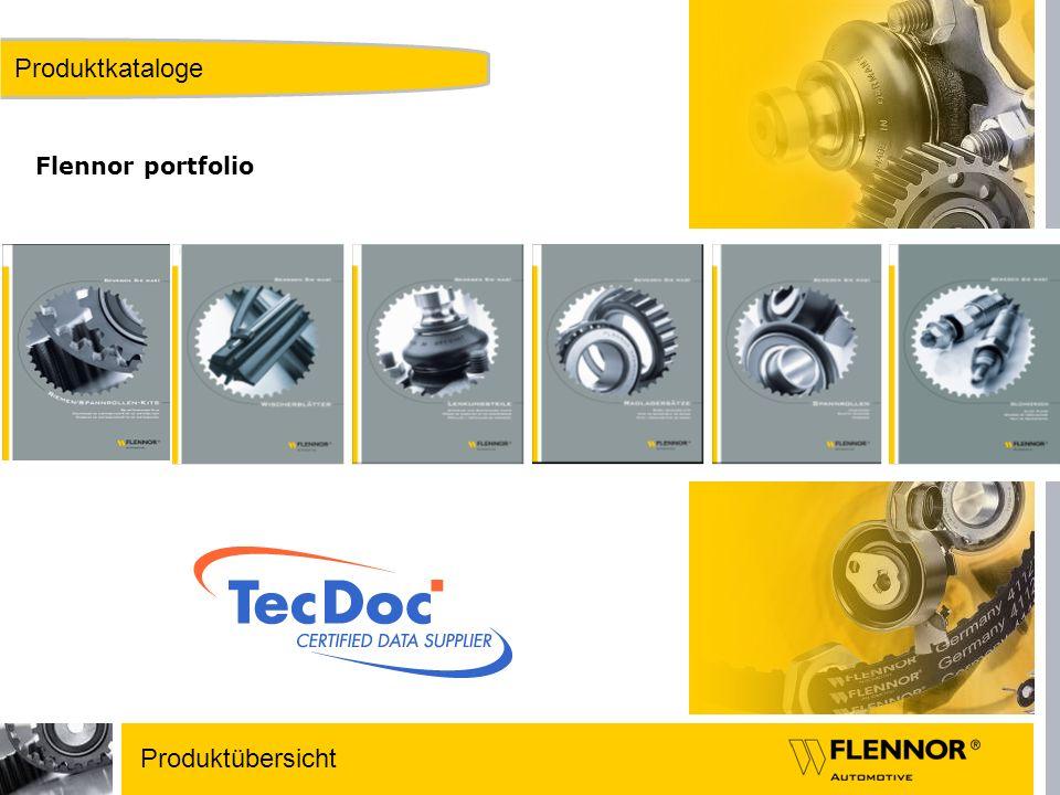 Produktkataloge Flennor portfolio Produktübersicht