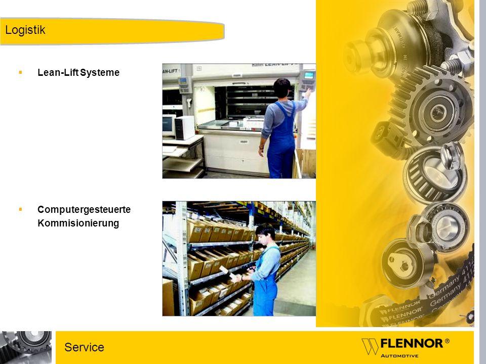 Logistik Lean-Lift Systeme Computergesteuerte Kommisionierung Service