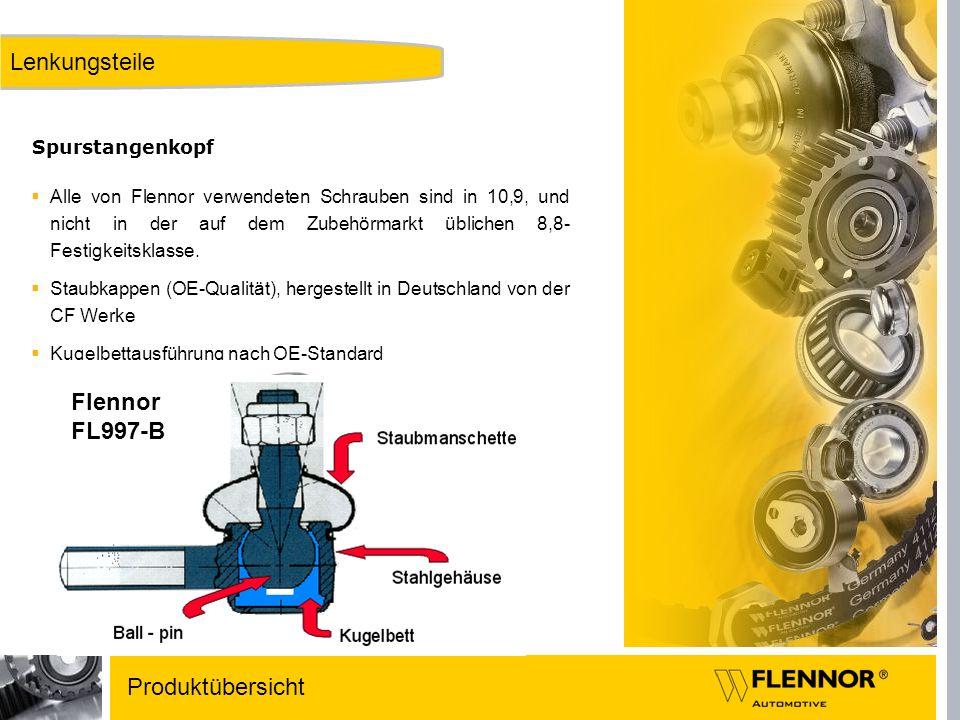 Lenkungsteile Flennor FL997-B Produktübersicht Spurstangenkopf