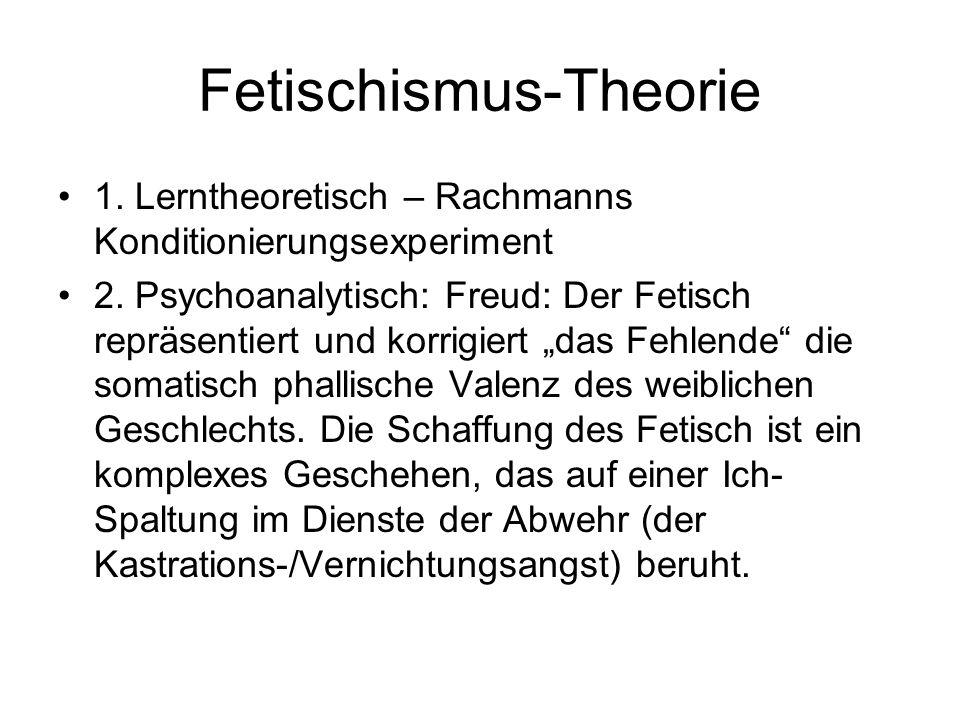 Fetischismus-Theorie