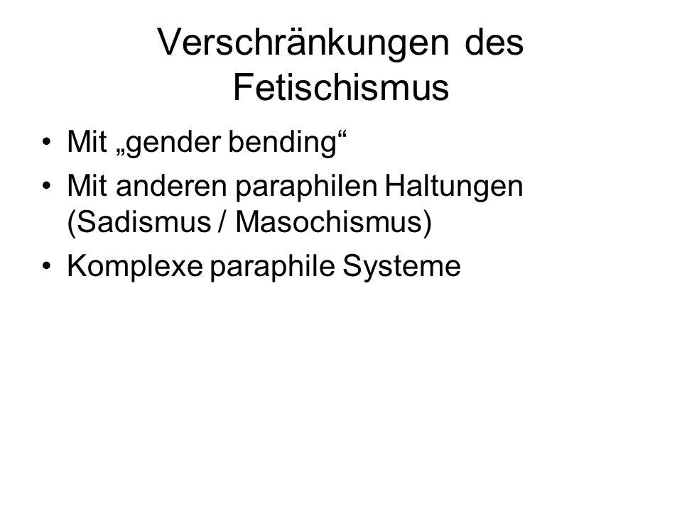 Verschränkungen des Fetischismus