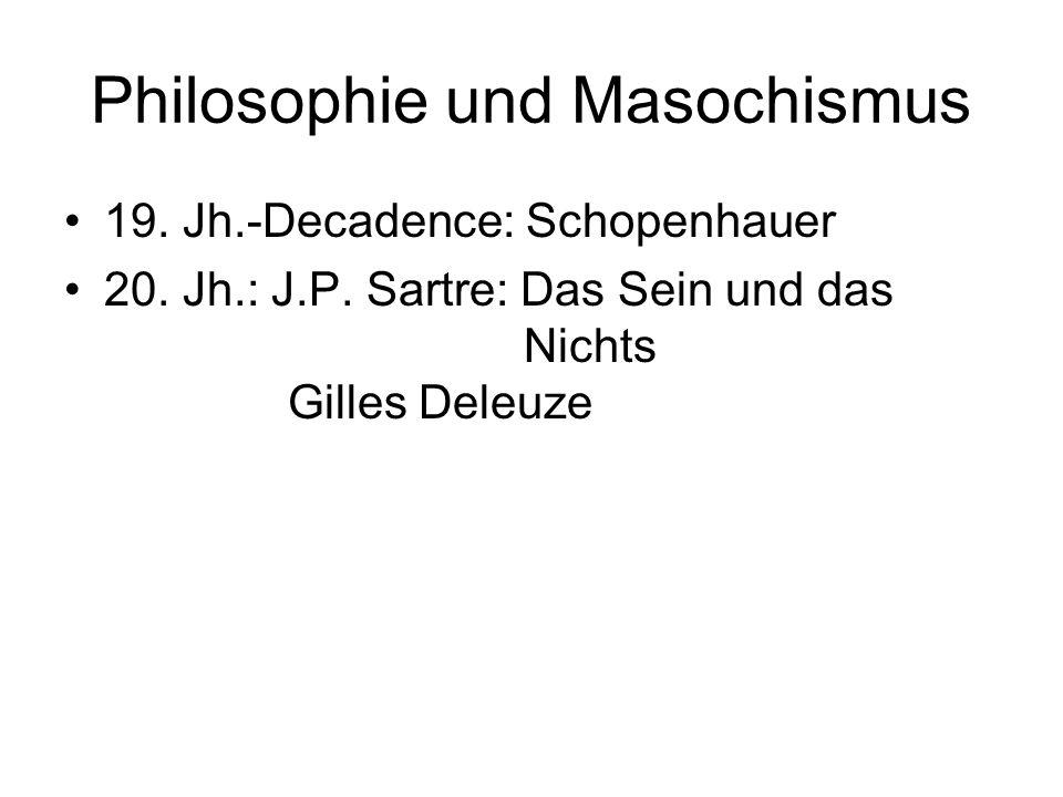 Philosophie und Masochismus
