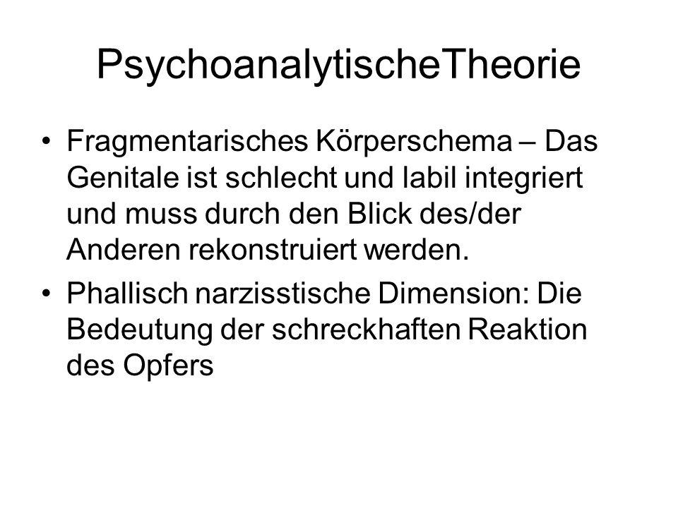 PsychoanalytischeTheorie