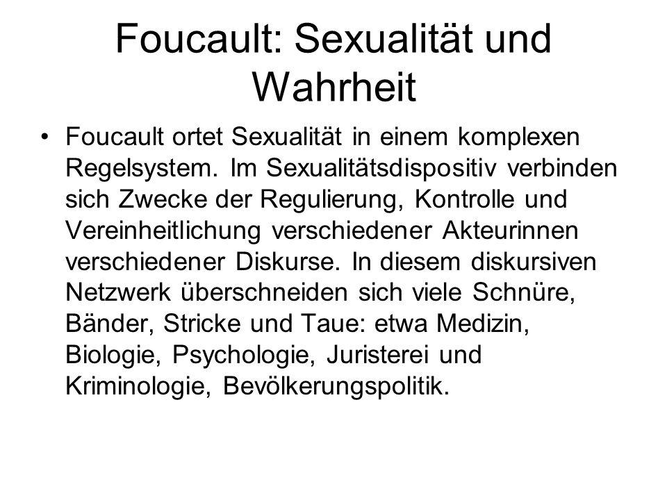 Foucault: Sexualität und Wahrheit