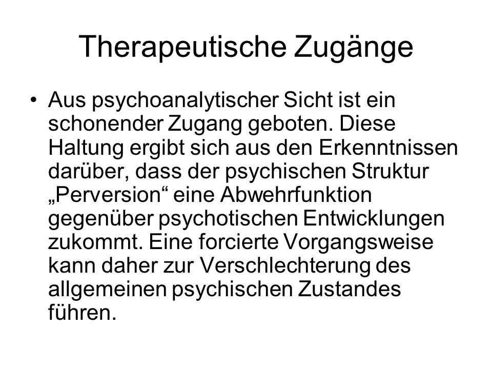Therapeutische Zugänge
