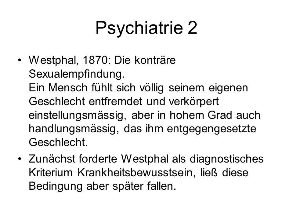 Psychiatrie 2