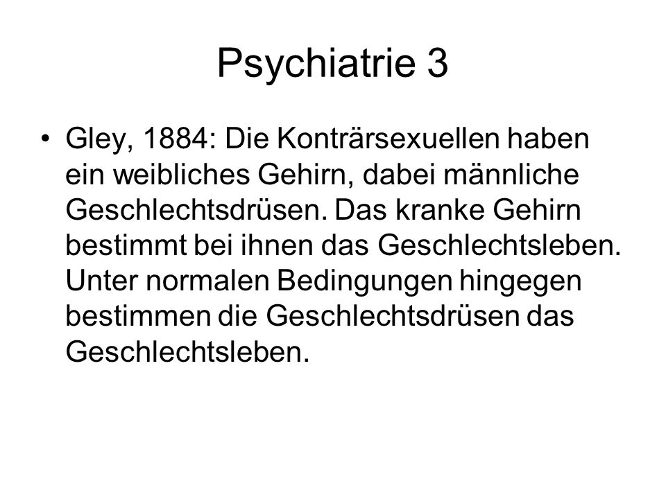 Psychiatrie 3