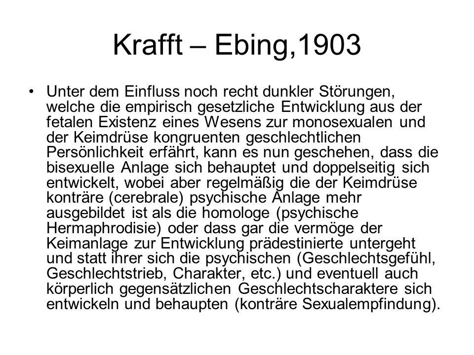 Krafft – Ebing,1903