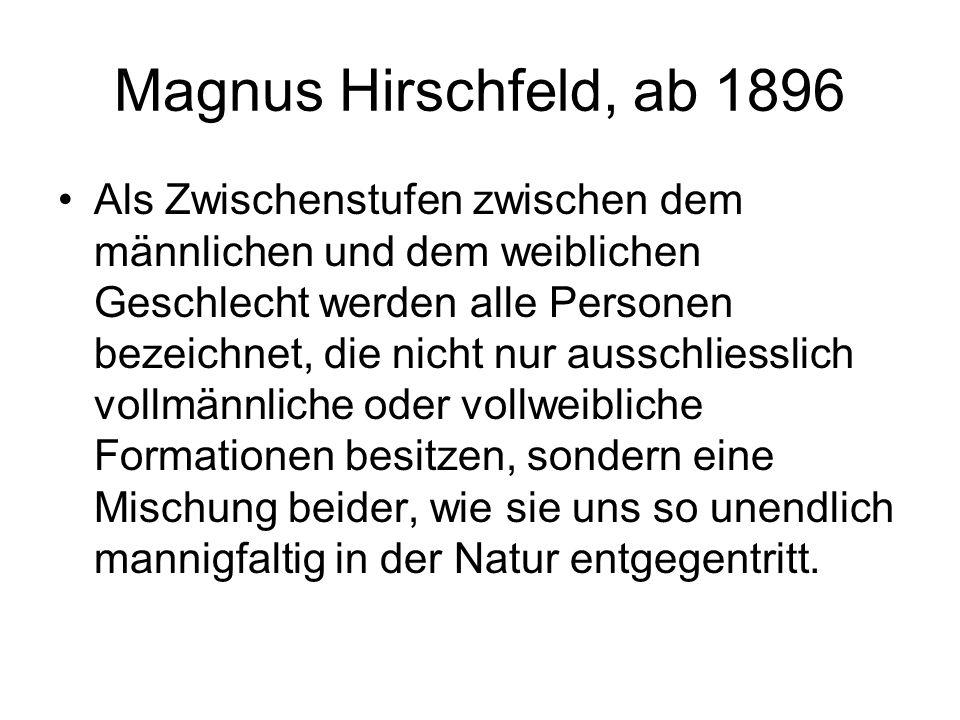 Magnus Hirschfeld, ab 1896