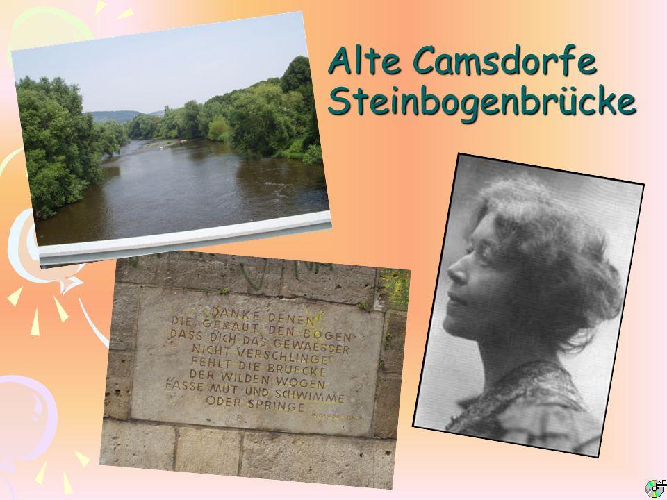 Alte Camsdorfe Steinbogenbrücke
