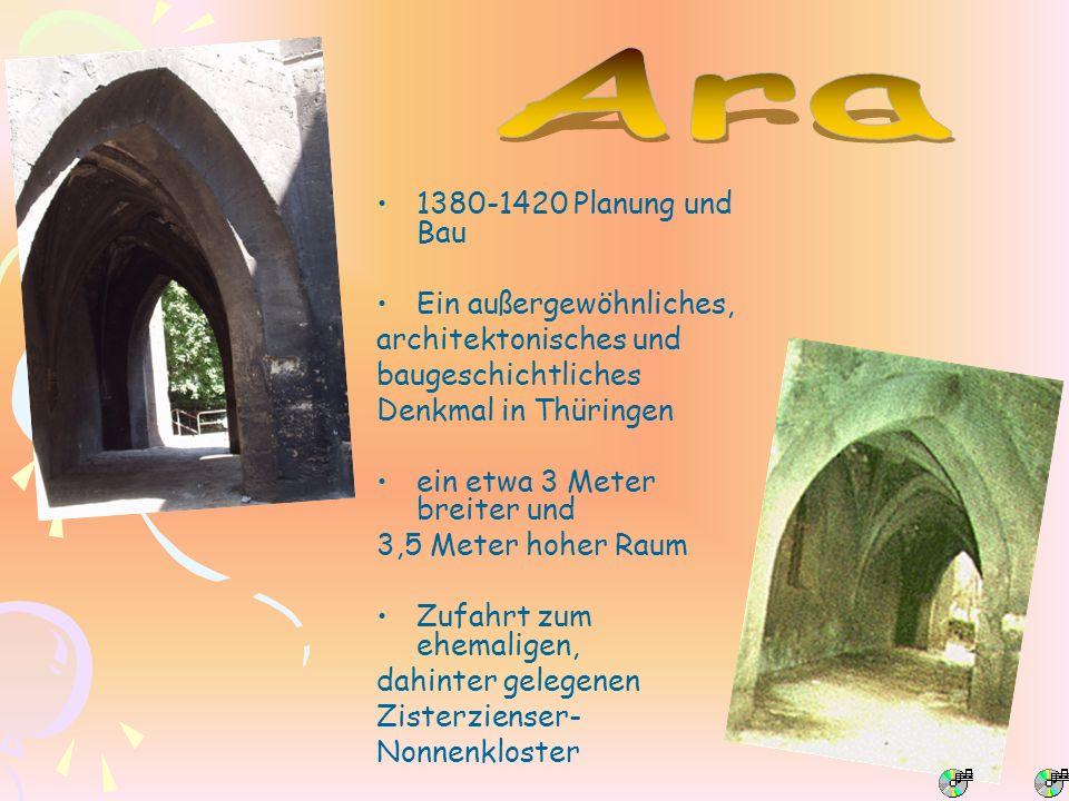 Ara 1380-1420 Planung und Bau Ein außergewöhnliches,
