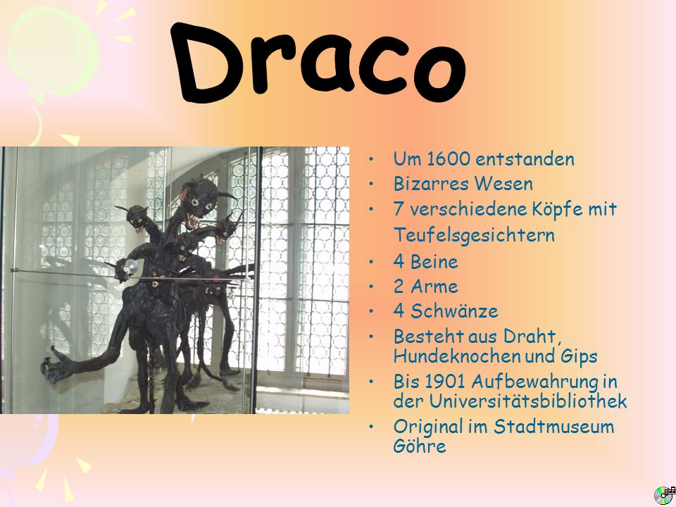 Draco Um 1600 entstanden Bizarres Wesen