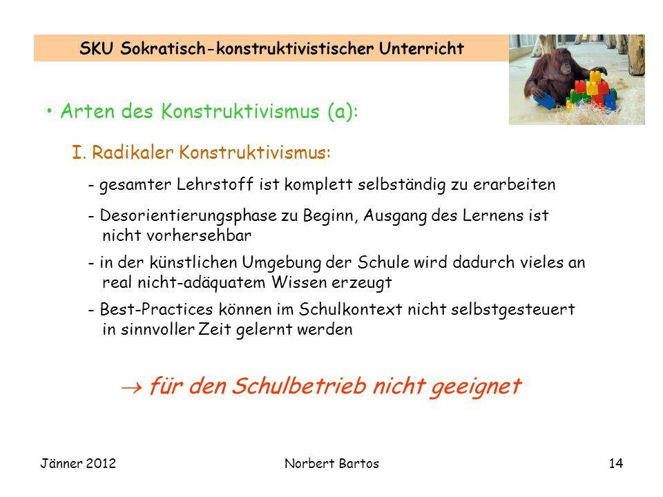 SKU Sokratisch-konstruktivistischer Unterricht