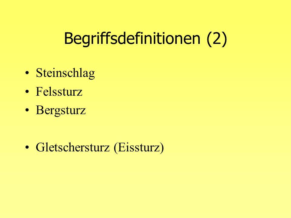 Begriffsdefinitionen (2)