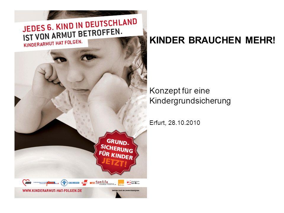 Konzept für eine Kindergrundsicherung Erfurt, 28.10.2010