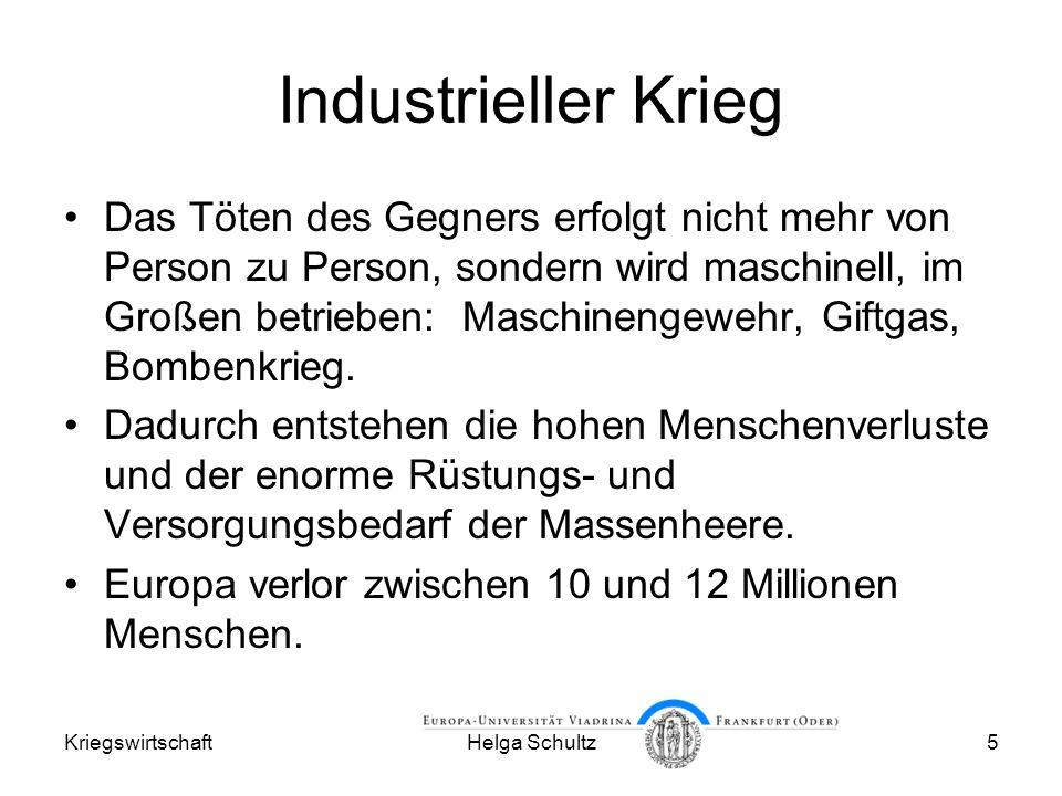 Industrieller Krieg
