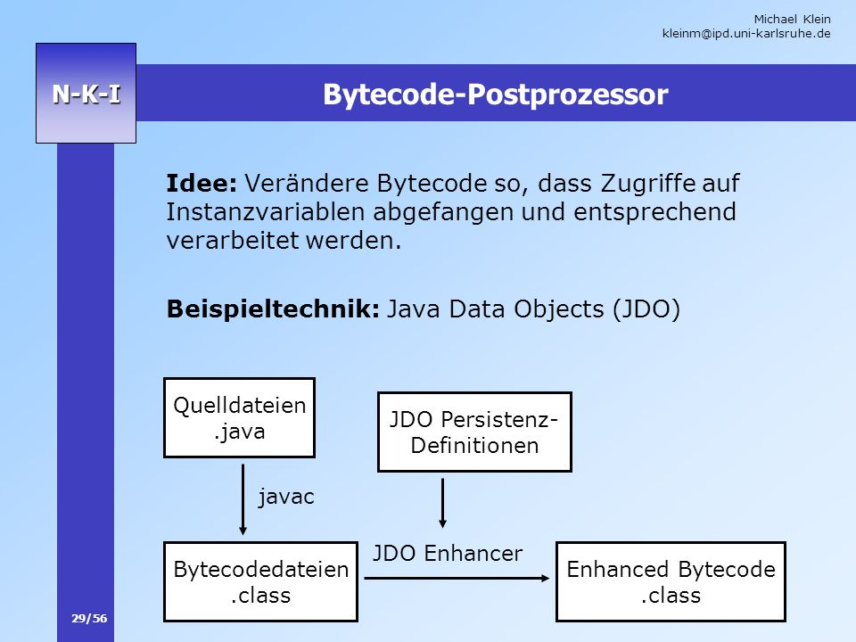 Bytecode-Postprozessor