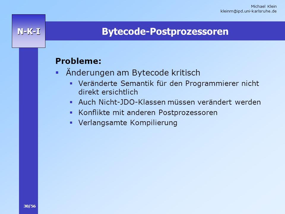 Bytecode-Postprozessoren