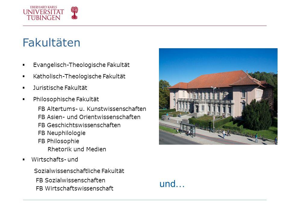 Fakultäten und… Evangelisch-Theologische Fakultät