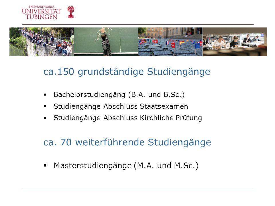 ca.150 grundständige Studiengänge