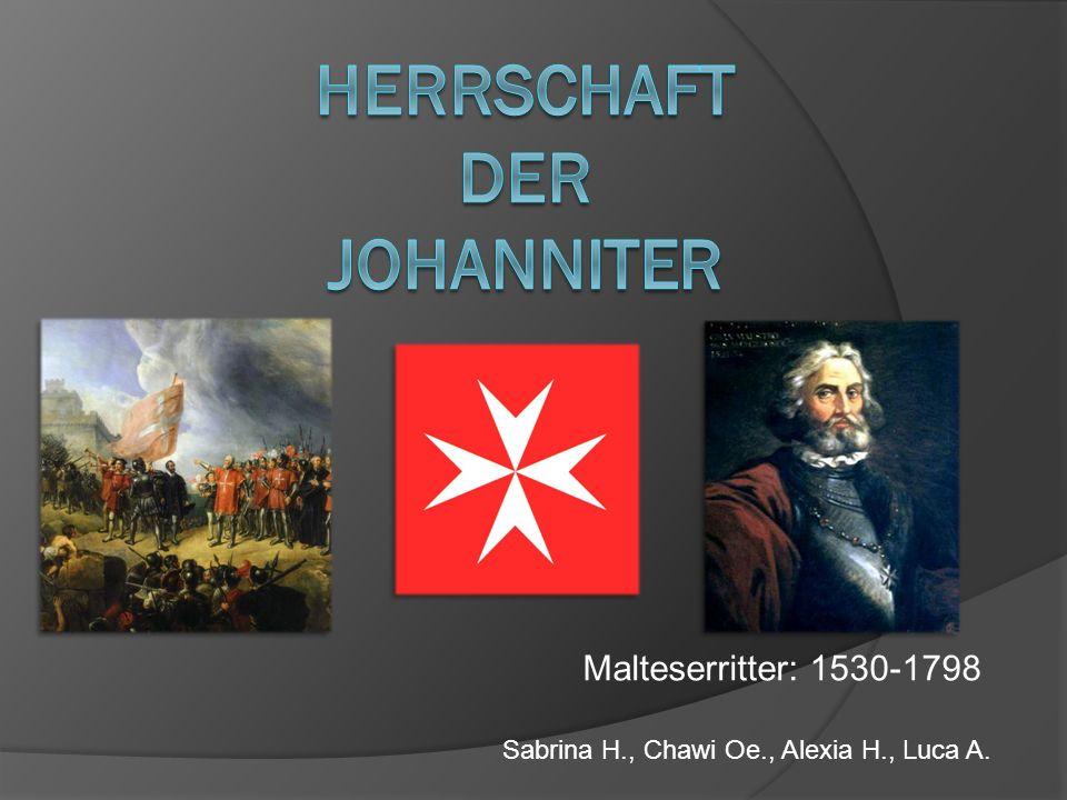 Herrschaft Der Johanniter