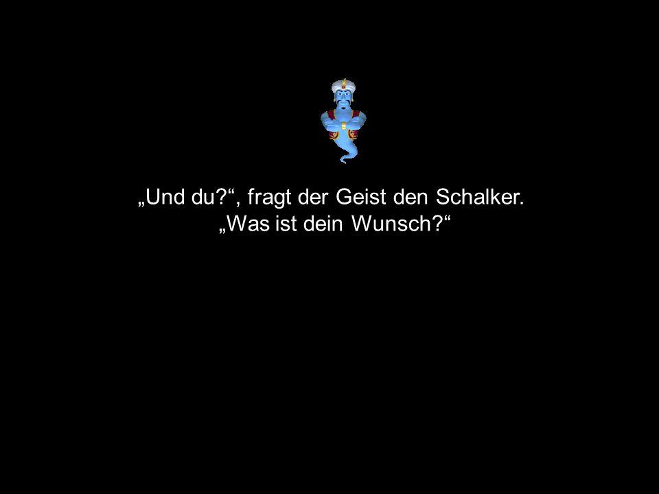 """""""Und du , fragt der Geist den Schalker."""
