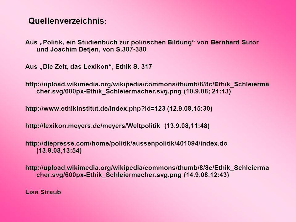 """Quellenverzeichnis: Aus """"Politik, ein Studienbuch zur politischen Bildung von Bernhard Sutor und Joachim Detjen, von S.387-388."""