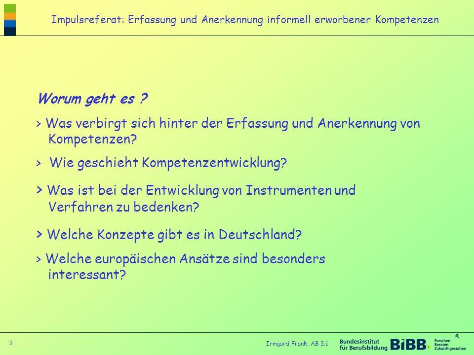 Welche Konzepte gibt es in Deutschland